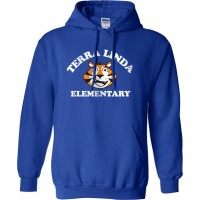 Terra Linda 22: Gildan 50/50 Fleece Hoodie - Royal Blue