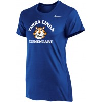 Terra Linda 12: Nike Women's Legend Short-Sleeve Training Top - Royal Blue