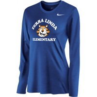 Terra Linda 15: Nike Women's Legend Long-Sleeve Training Top - Royal Blue