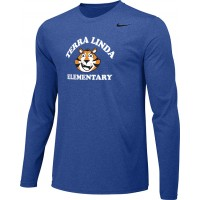 Terra Linda 13: Adult-Size - Nike Team Legend Long-Sleeve Crew T-Shirt - Royal Blue