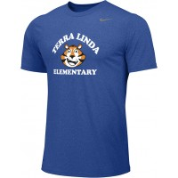 Terra Linda 10: Adult-Size - Nike Team Legend Short-Sleeve Crew T-Shirt - Royal Blue